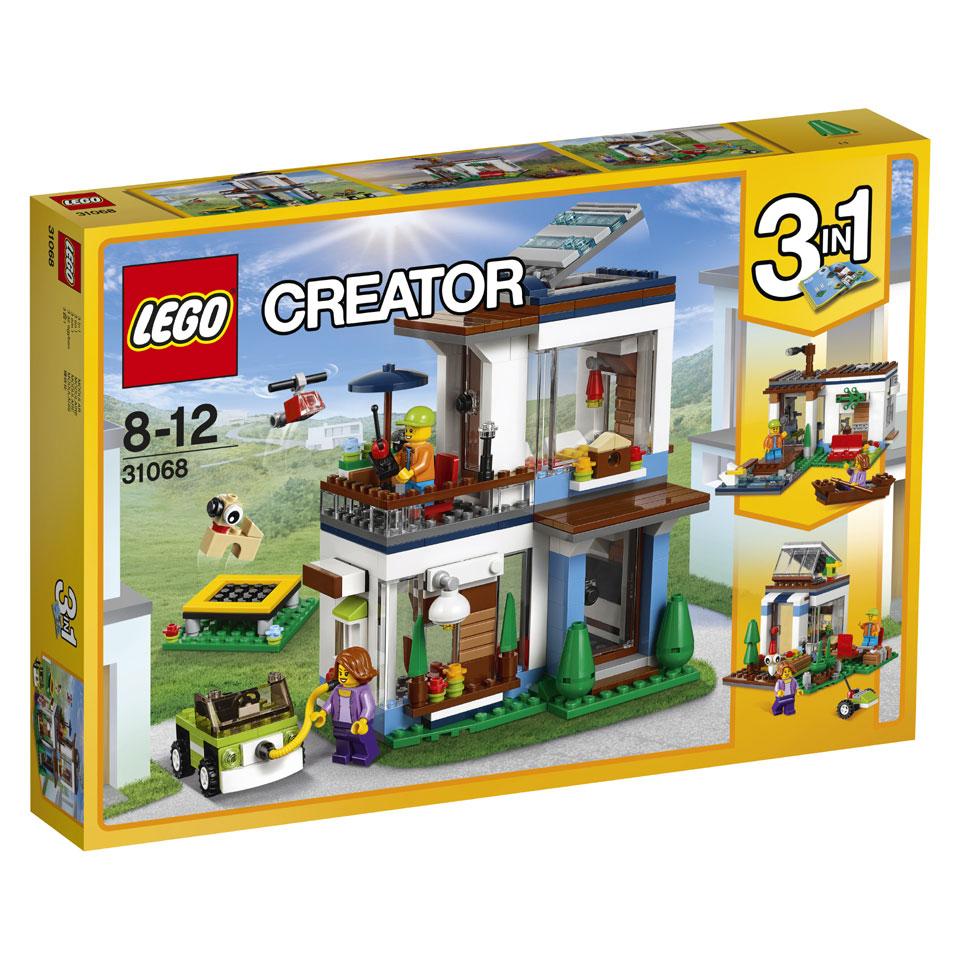 LEGO Creator modulair modern huis 31068