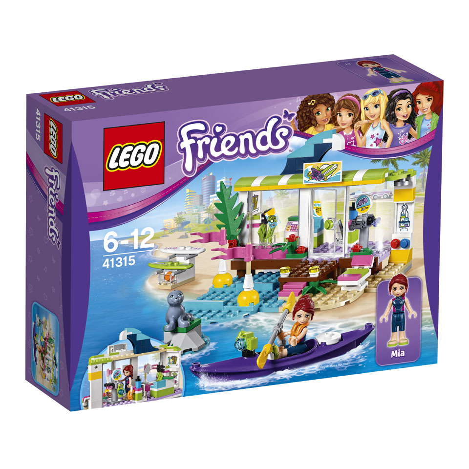LEGO Friends Heartlake surfshop 41315