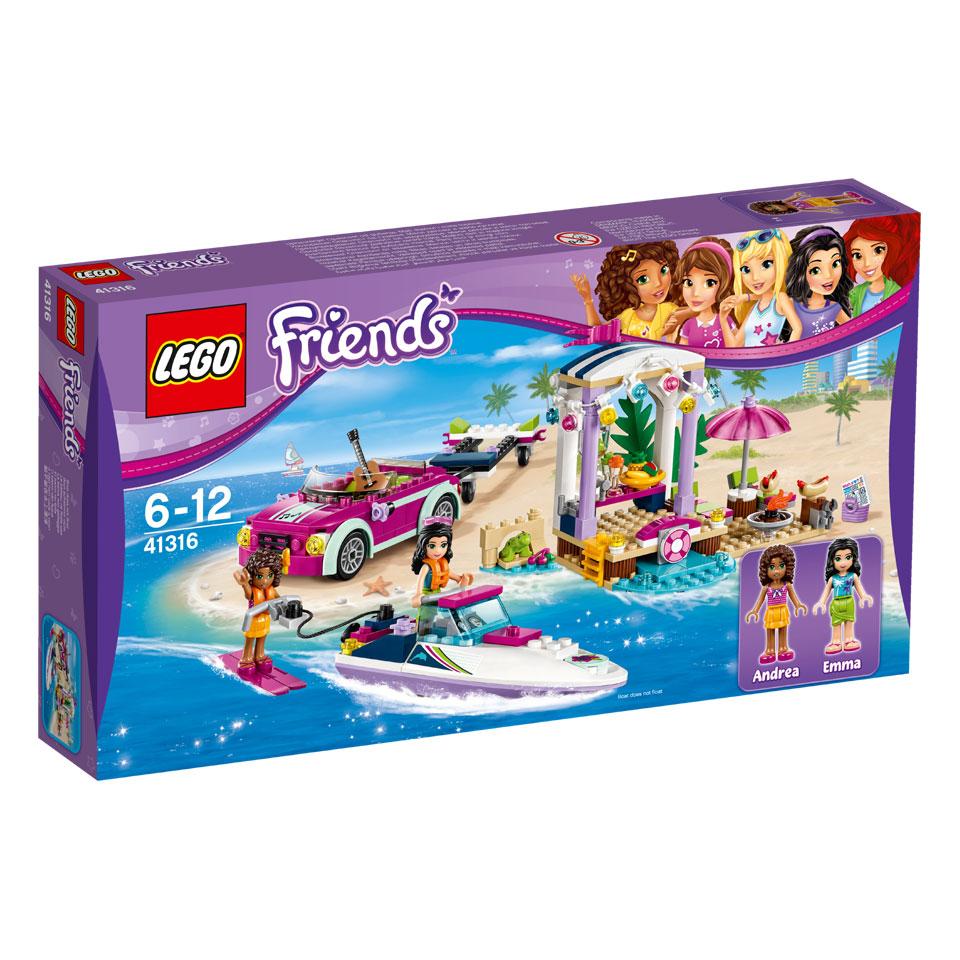 LEGO Friends Andrea's speedboottransport 41316