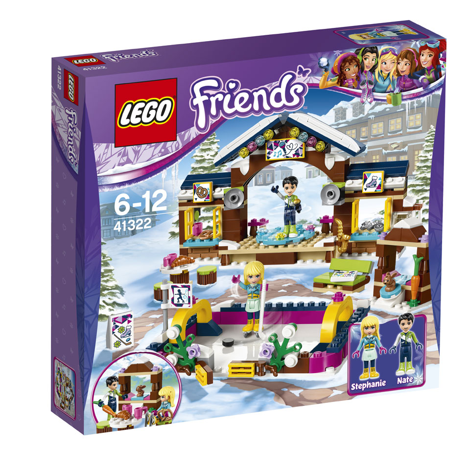 LEGO Friends wintersport ijsbaan 41322