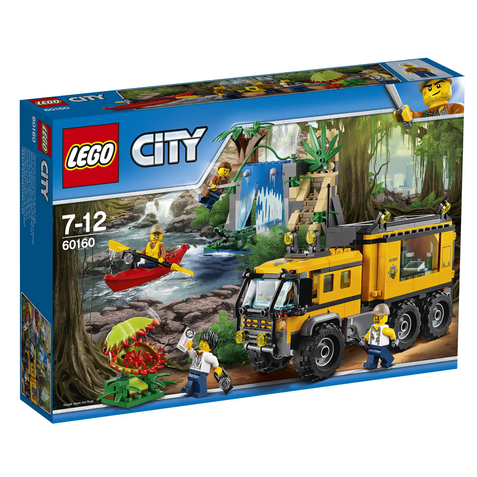 LEGO City jungle laboratorium 60160