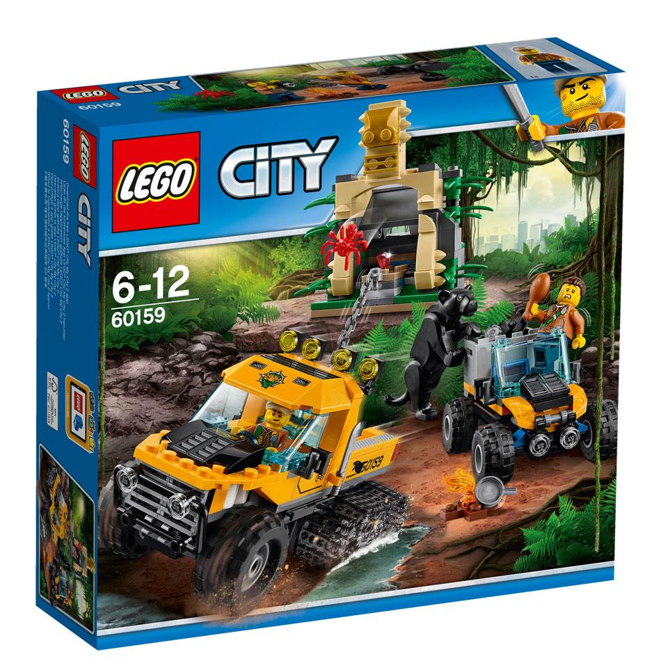 LEGO City jungle missie met halfrupsvoertuig 60159