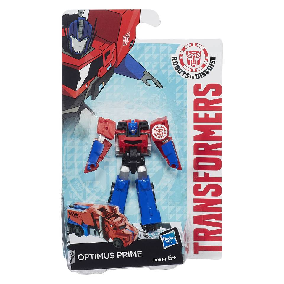 Transformers: Robots in Disguise figuur Optimus Prime