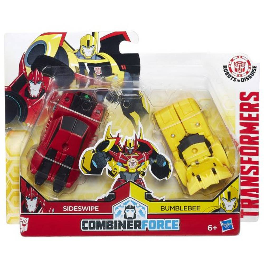 Transformers Robots in Disguise Crash Combiners figurenset