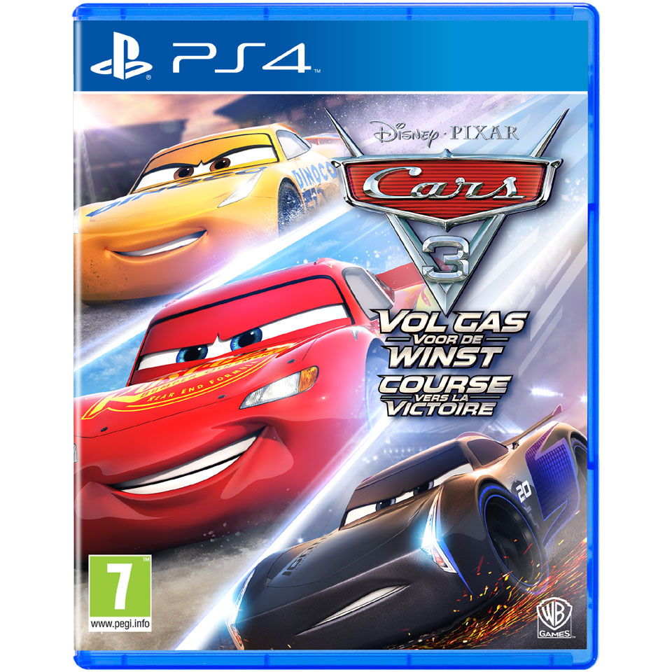 PS4 Cars 3 Vol gas voor de winst