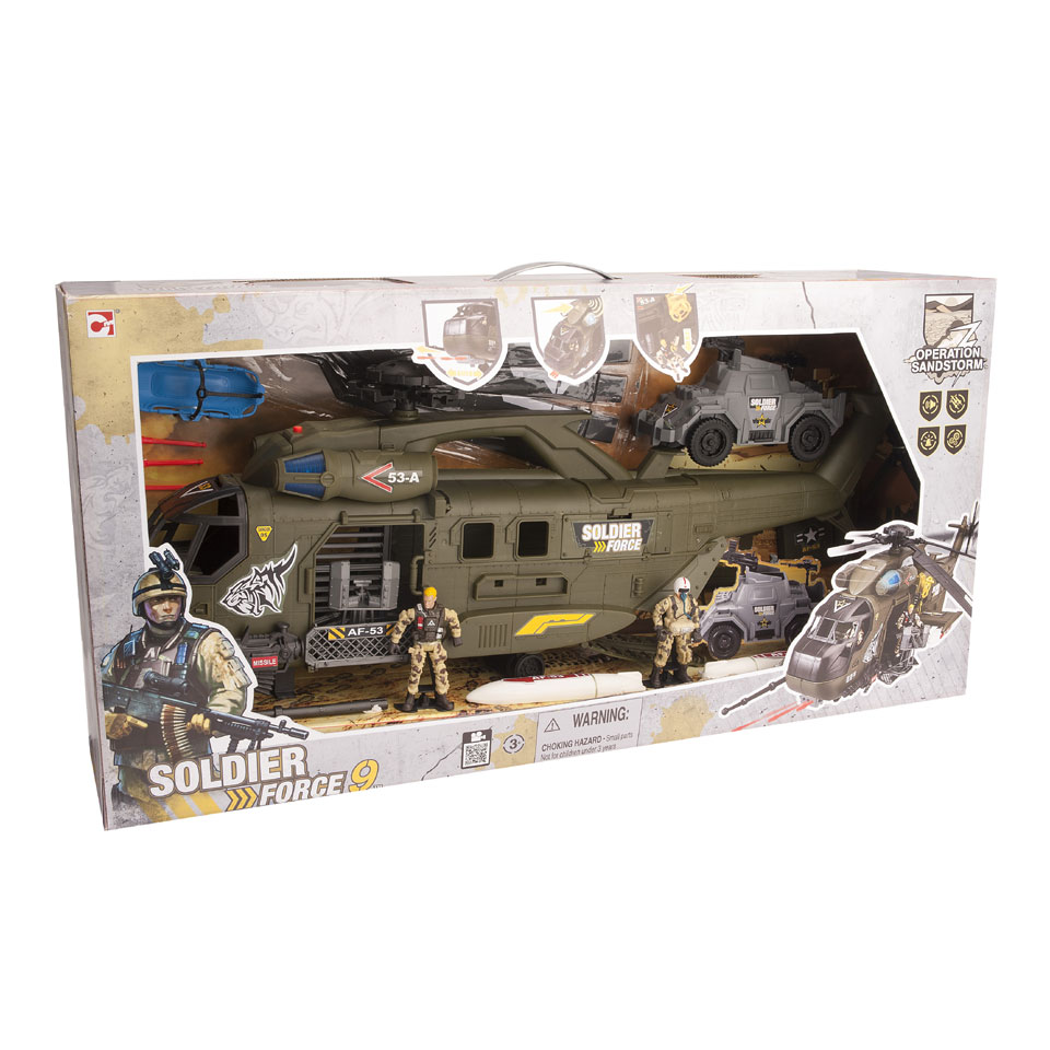 Soldier Force 9 Whirlwind 53 helikopter