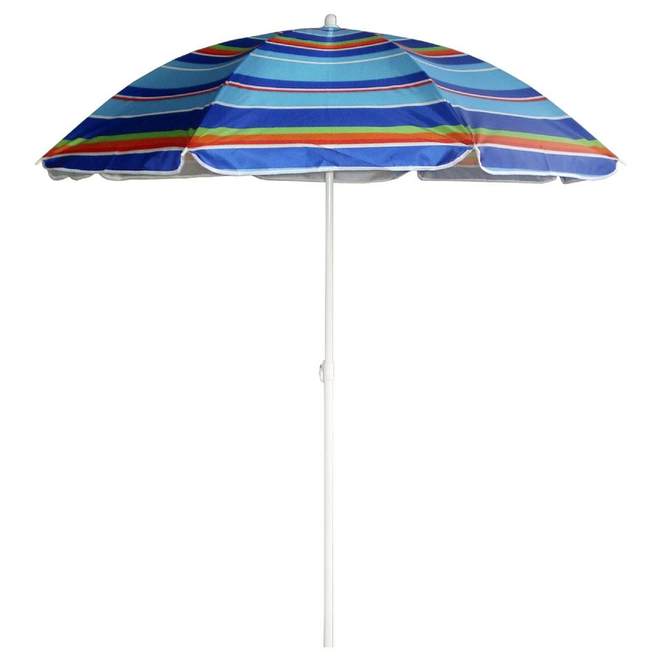 Summertime Mix & Match parasol gestreept - 180 cm