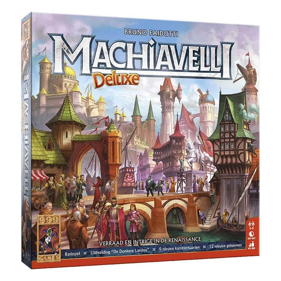 Machiavelli Deluxe bordspel