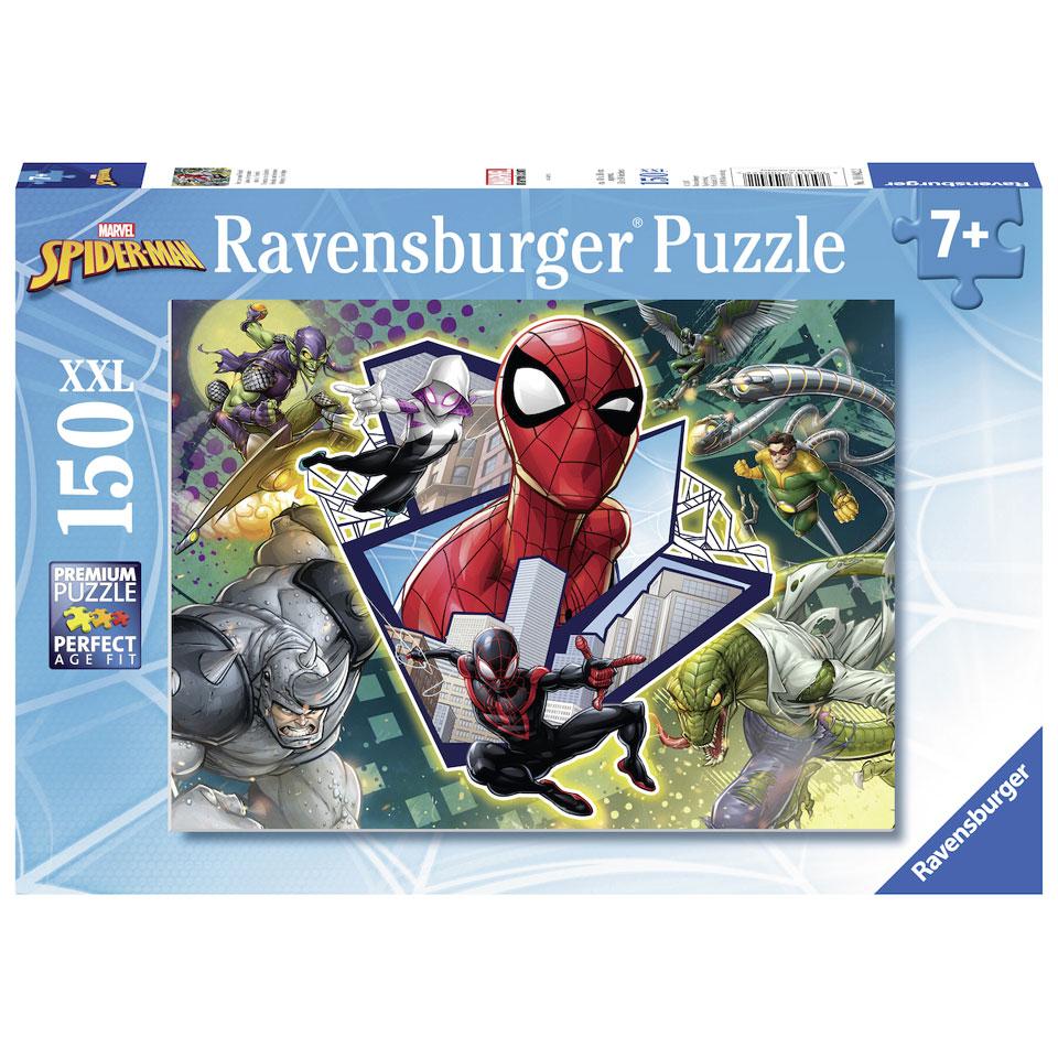 Ravensburger puzzel Spider-Man vrienden en vijanden - 150 stukjes