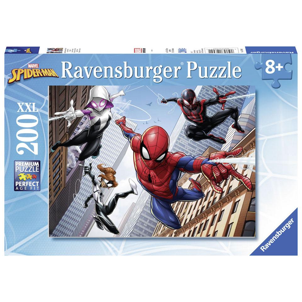 Ravensburger puzzel Spider-Man de kracht van de spin - 200 stukjes