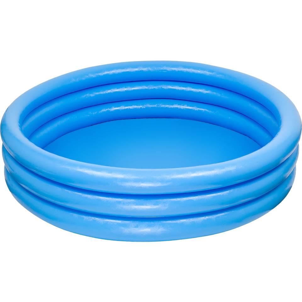 Intex opblaaszwembad Crystal - 147 x 33 cm - blauw