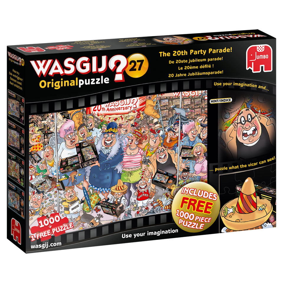 Jumbo Wasgij Original 27 puzzel De jubileum parade - 1000 stukjes