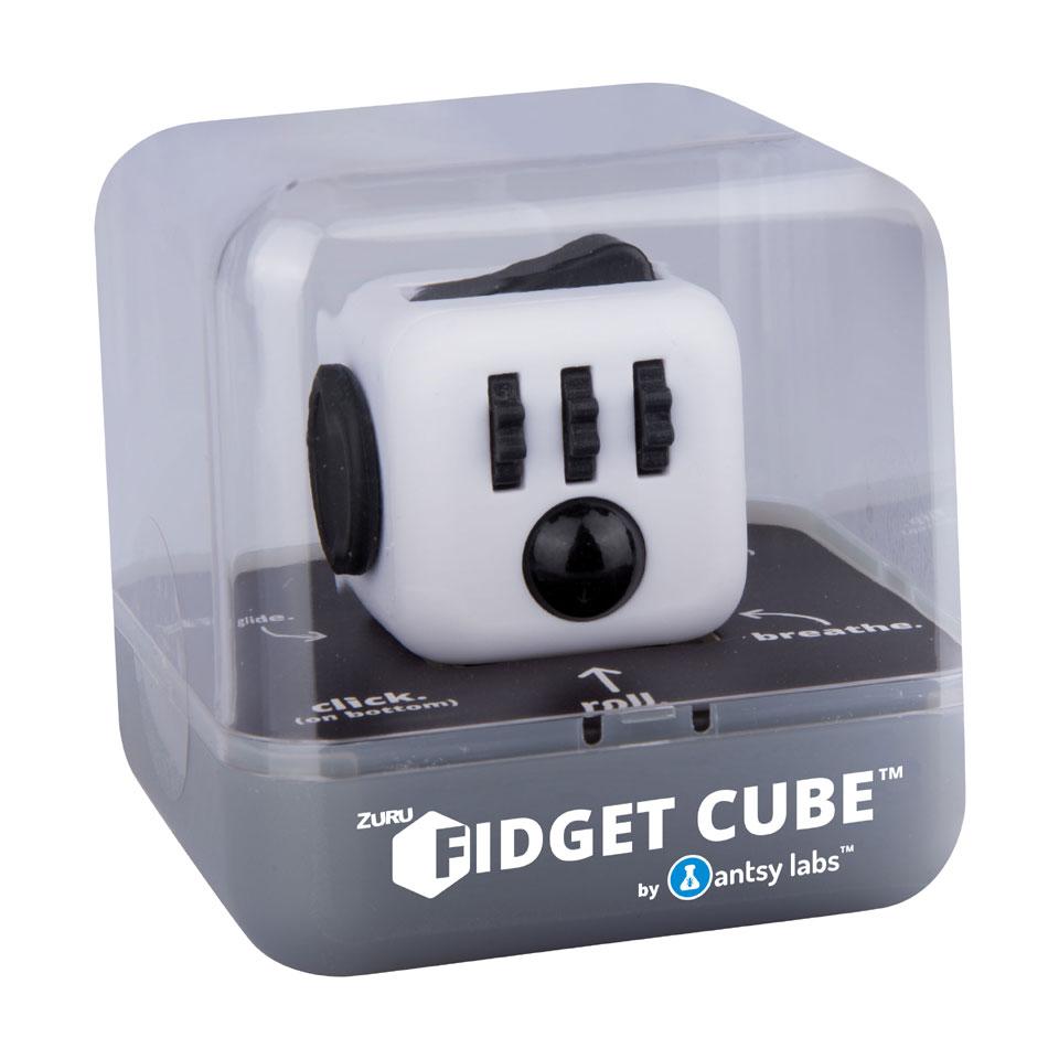 Fidget Cube - zwart/wit