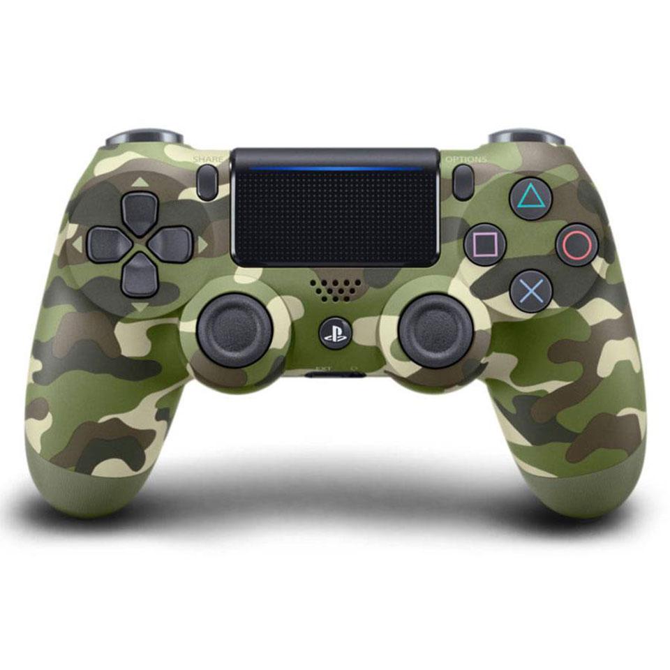 PlayStation 4 DualShock Controller Green Camo V2