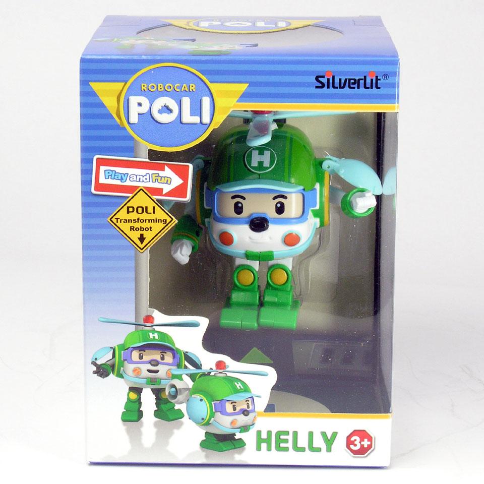 Silverlit Robocar Poli transformerende robot Helly - groen