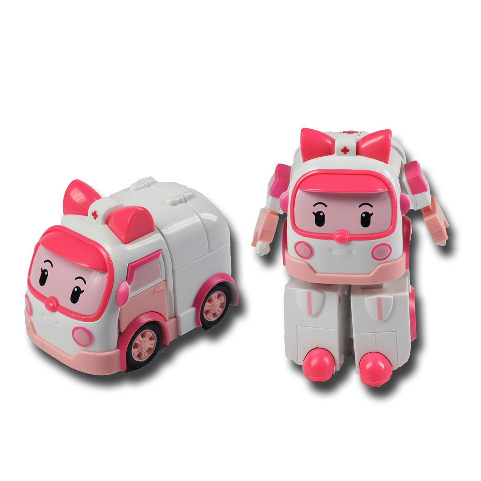 Robocar Poli transformerende robotAmber
