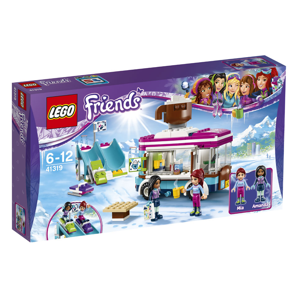 LEGO Friends wintersport koek-en-zopiewagen 41319