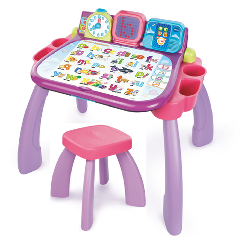 VTech mijn magisch bureau 3-in-1 set - roze