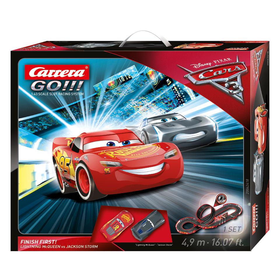 Carrera Go Disney Cars 3 Finish First Racebaan