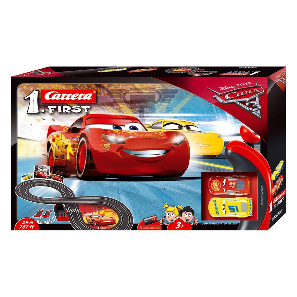 Carrera GO! Disney Cars 3 racebaan