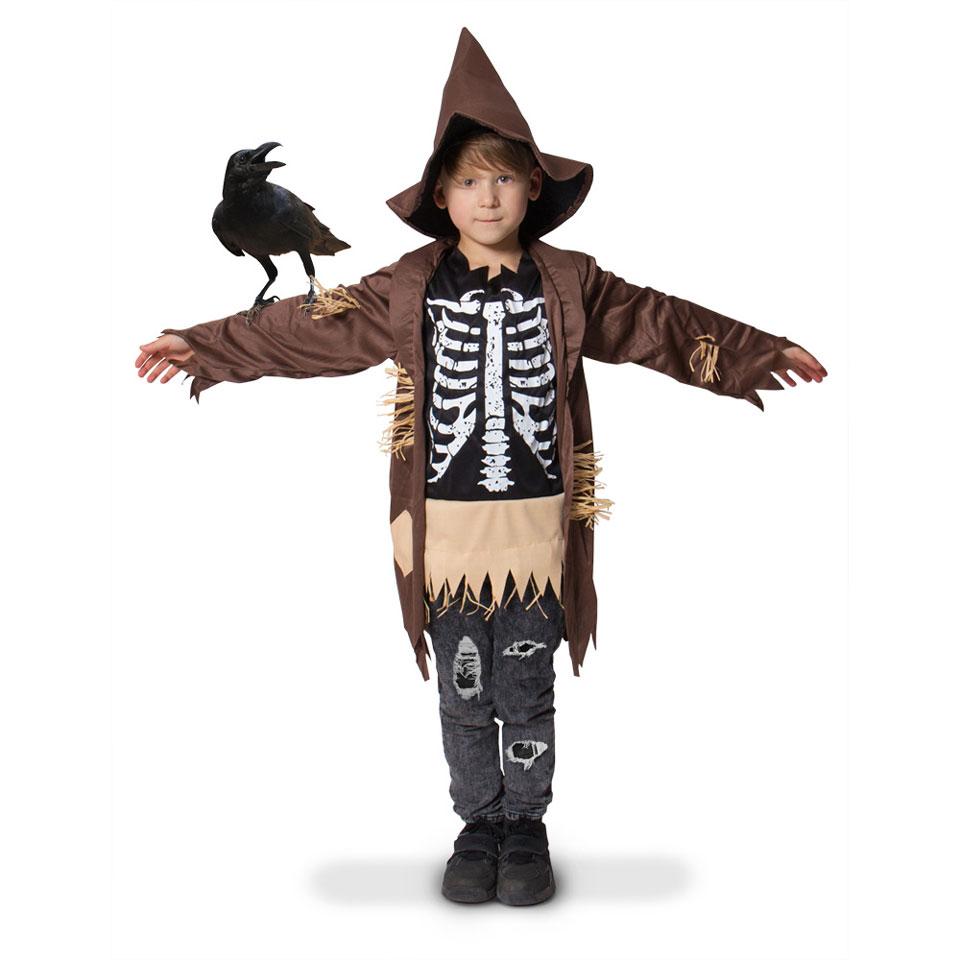 Vogelverschrikker kostuum - maat 116/134
