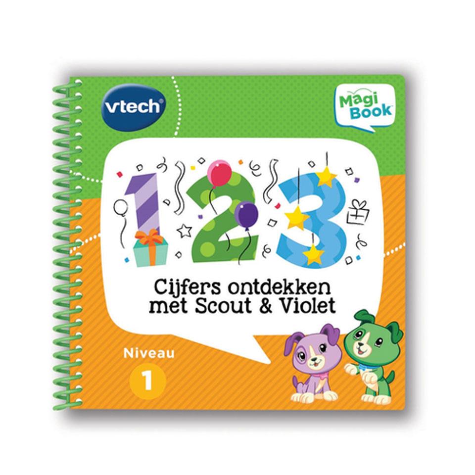 VTech MagiBook activiteitenboek: cijfers ontdekken met Scout & Violet