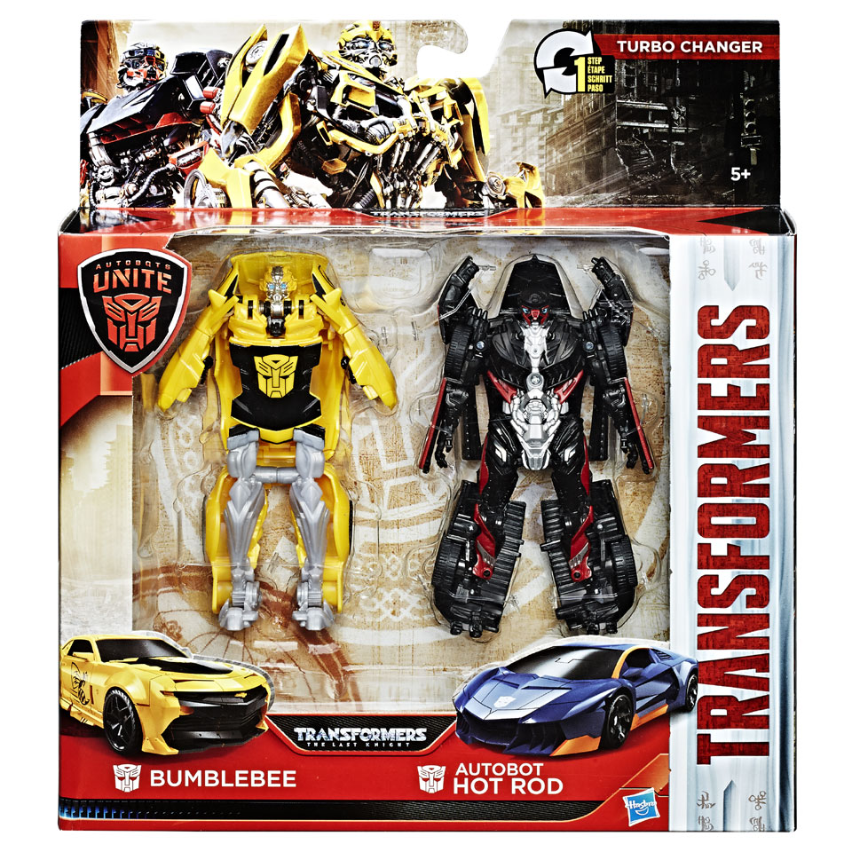 Transformers Autobots Unite Turbo Changer figuren Bumblebee