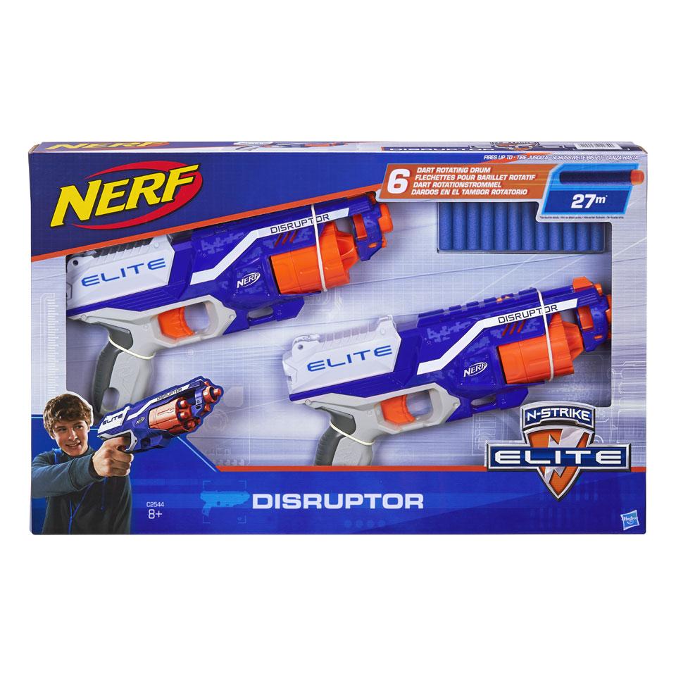 NERF N-Strike Elite Disruptor 2-pack blasters