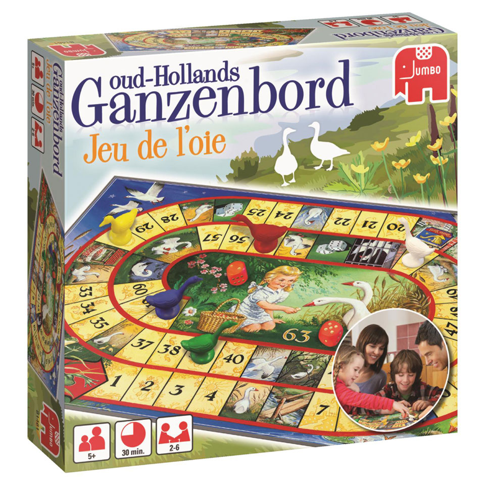 Jumbo Oud-Hollands ganzenbord