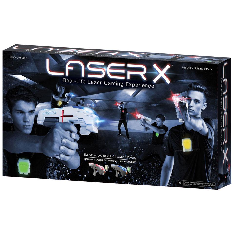 Laser X dubbel set