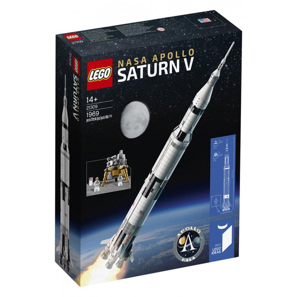 LEGO Ideas NASA Apollo Saturn V 21309