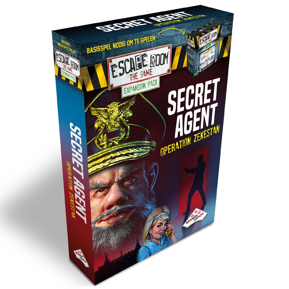 Escape Room: The Game uitbreidingsset Secret Agent