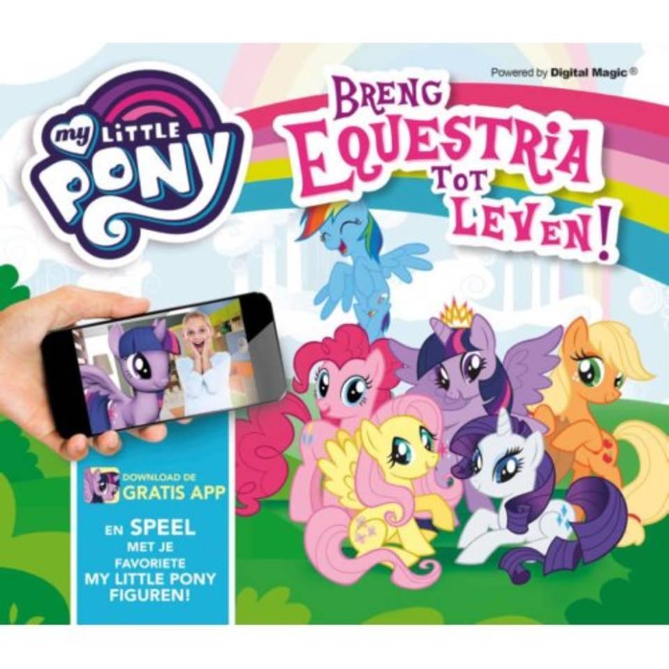 My Little Pony interactief boek Breng Equestria tot leven!