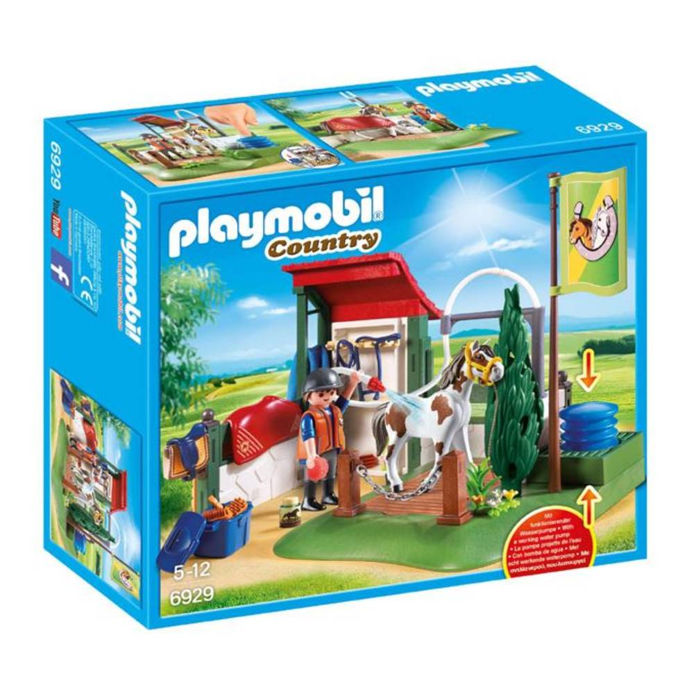 PLAYMOBIL Country paardenwasplaats 6929