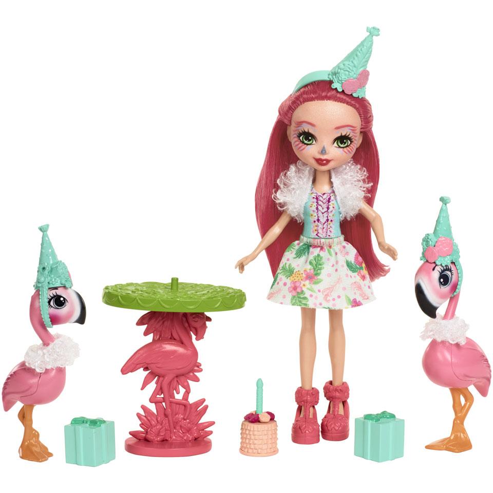 Enchantimals Fanci Flamingo speelset Verjaardagspartijtje