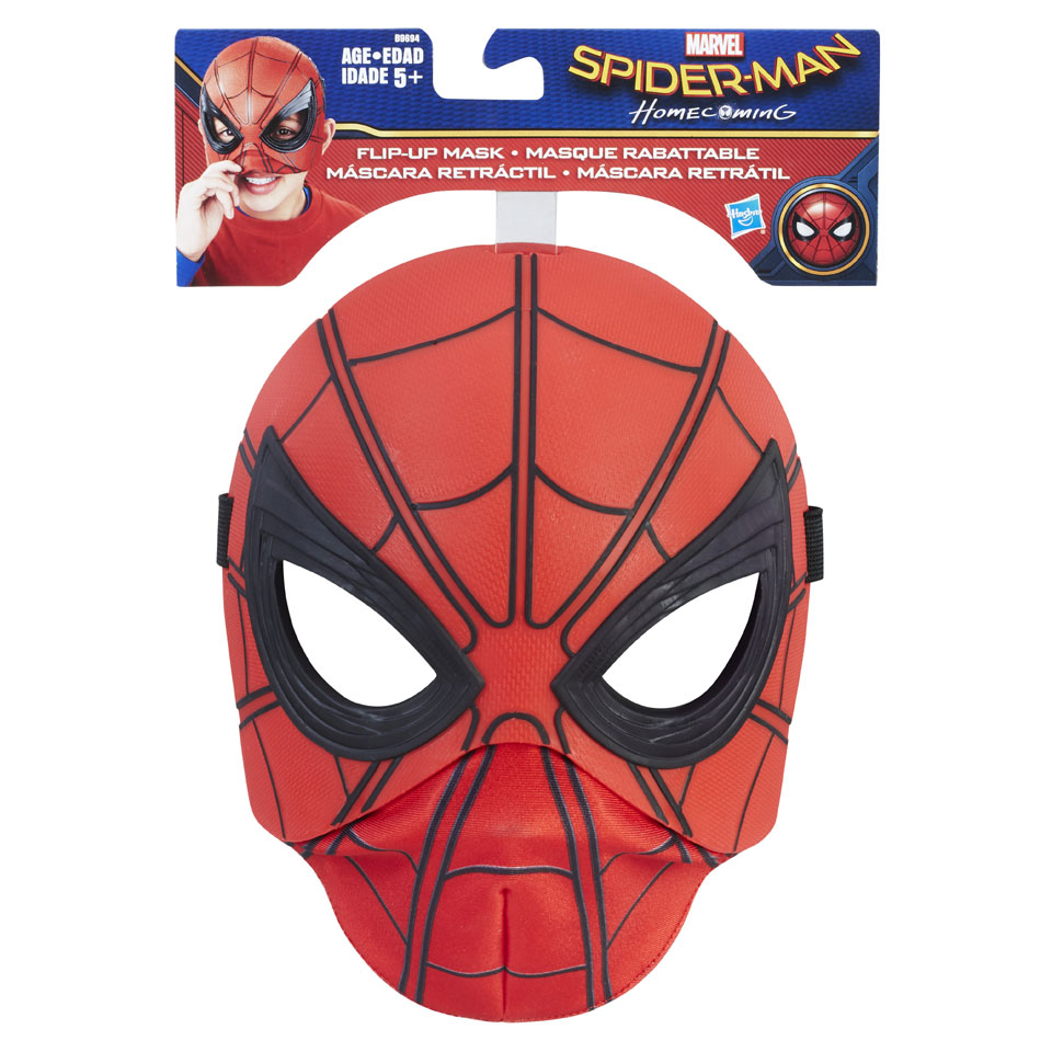 Spider-Man flip-up heldenmasker