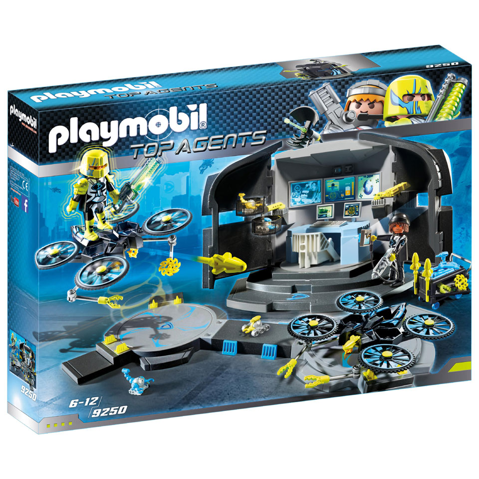 PLAYMOBIL Top Agents Dr. Drone commandocentrum 9250