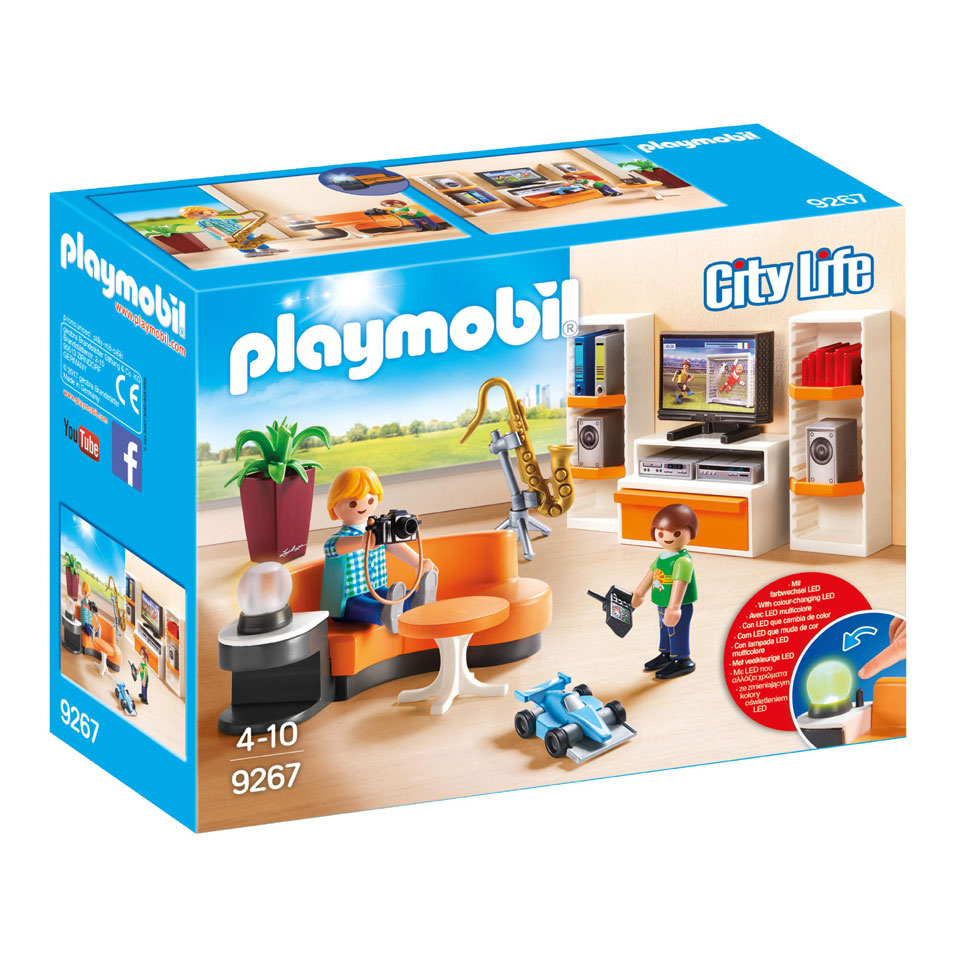 PLAYMOBIL City Life salon 9267
