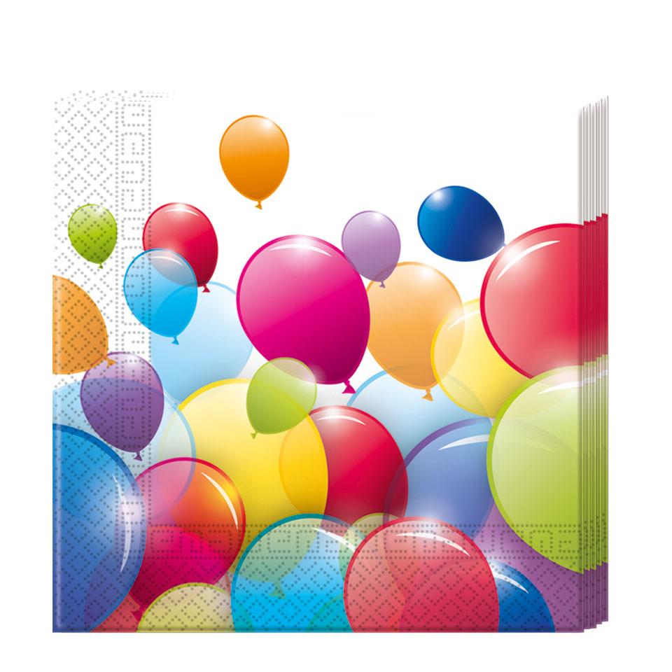 Flying Balloons servetten