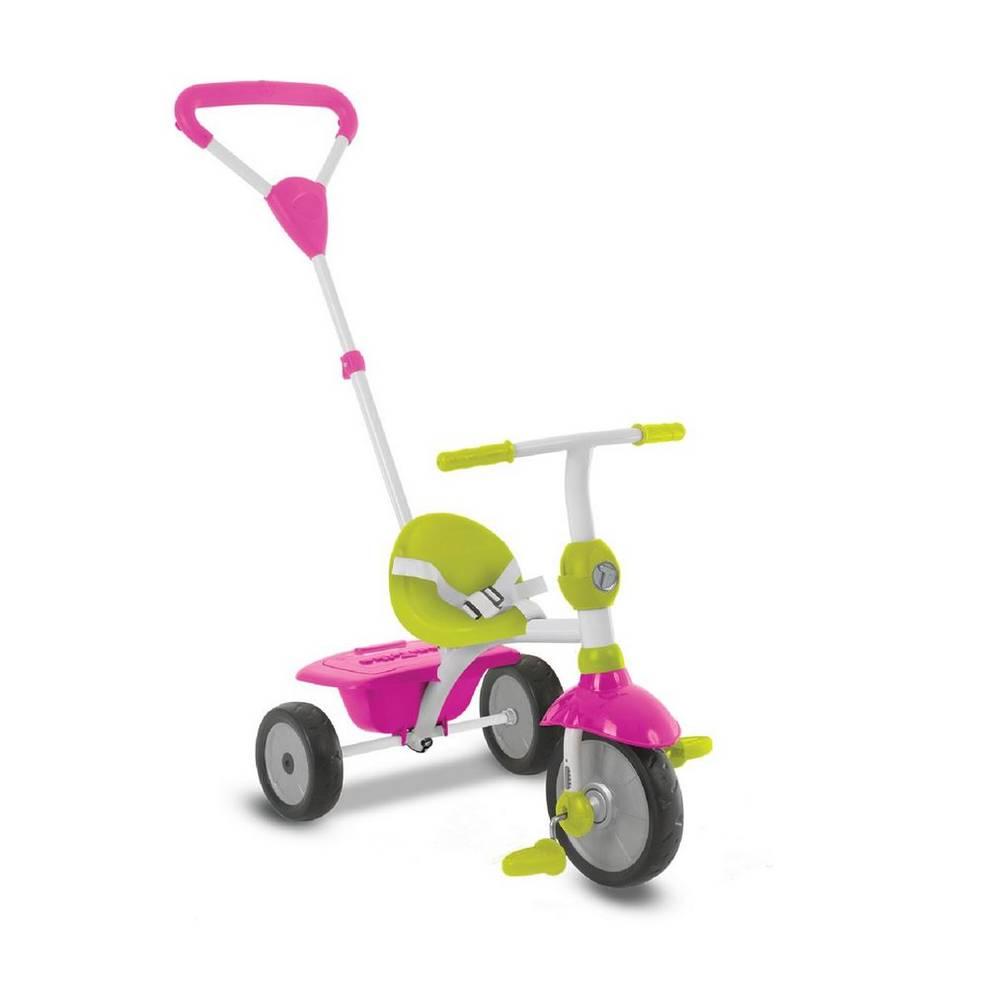 SmarTrike ZIP driewieler 3-in-1 - roze/groen/wit