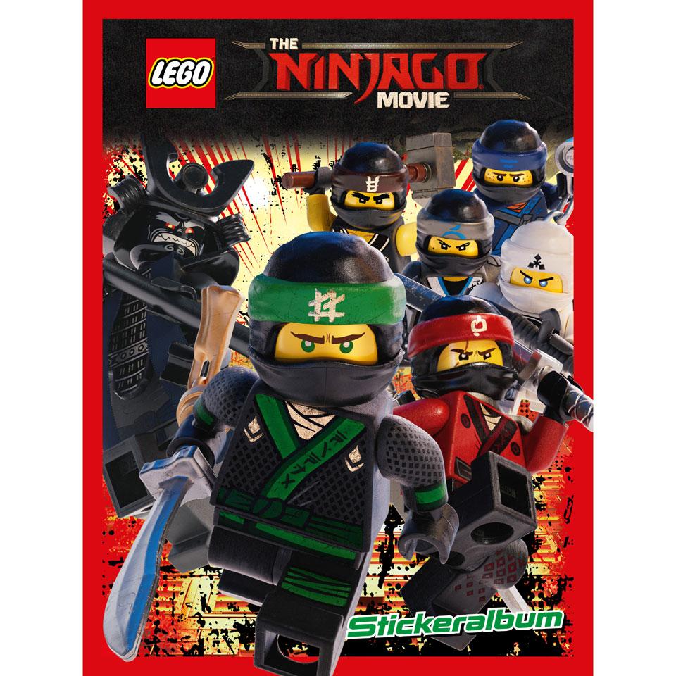 The LEGO Ninjago Movie stickeralbum