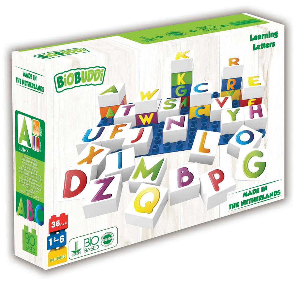 BiOBUDDi leer letters kennen - 36 stukjes
