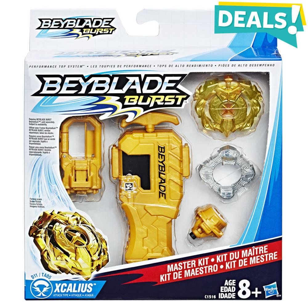 Beyblade Master Kit - geel