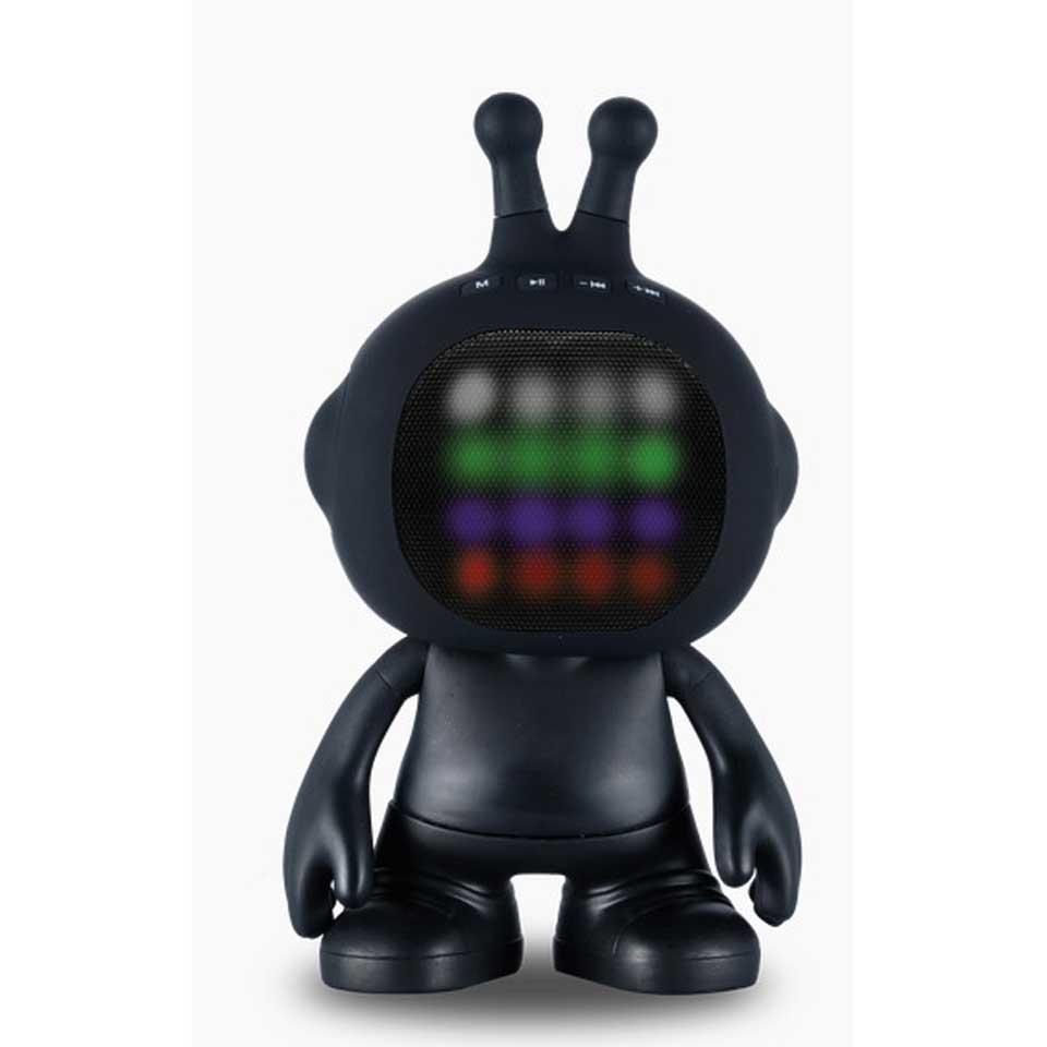 Wonky Monkey Jo-Jo Speaker - zwart