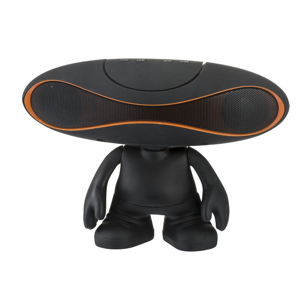 Wonky Monkey Space Speaker - zwart