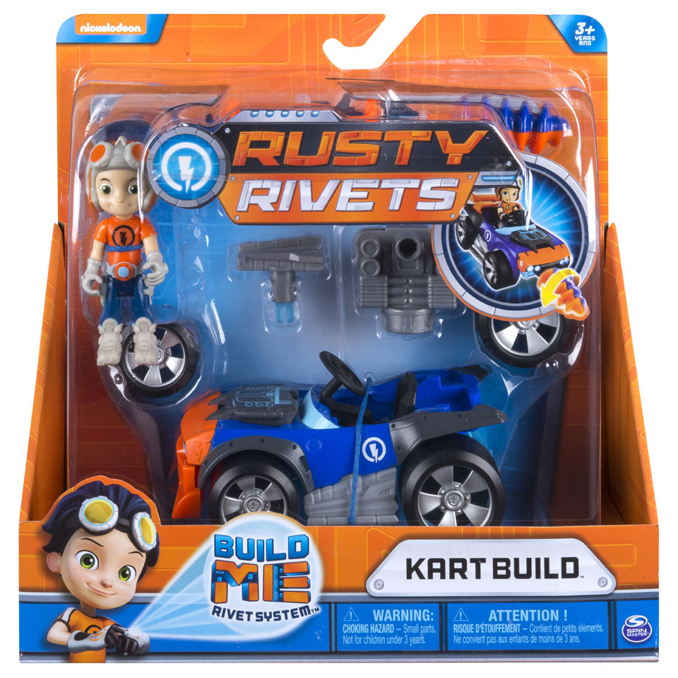 Rusty Rivets Wheeler Build Rusty kart