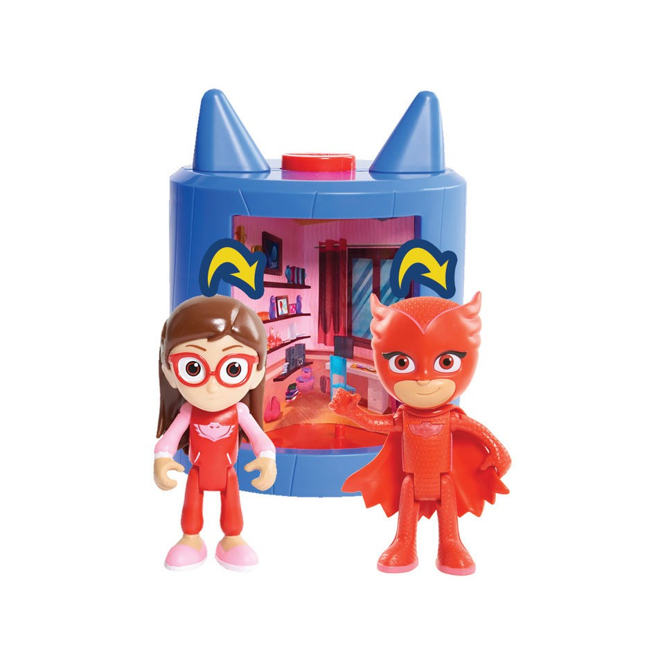 PJ Masks transformeerbare set Owlette