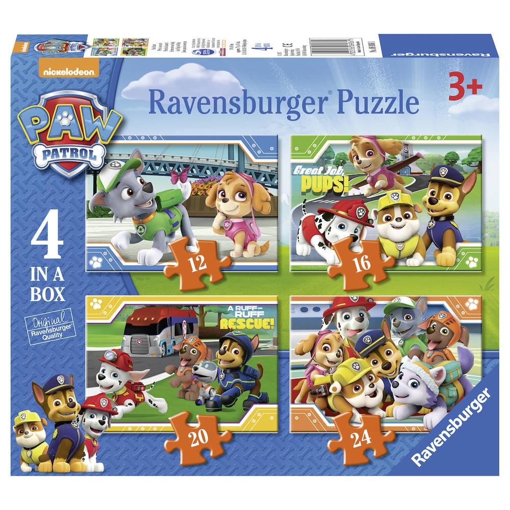 Ravensburger PAW Patrol 4-in-1 puzzelbox