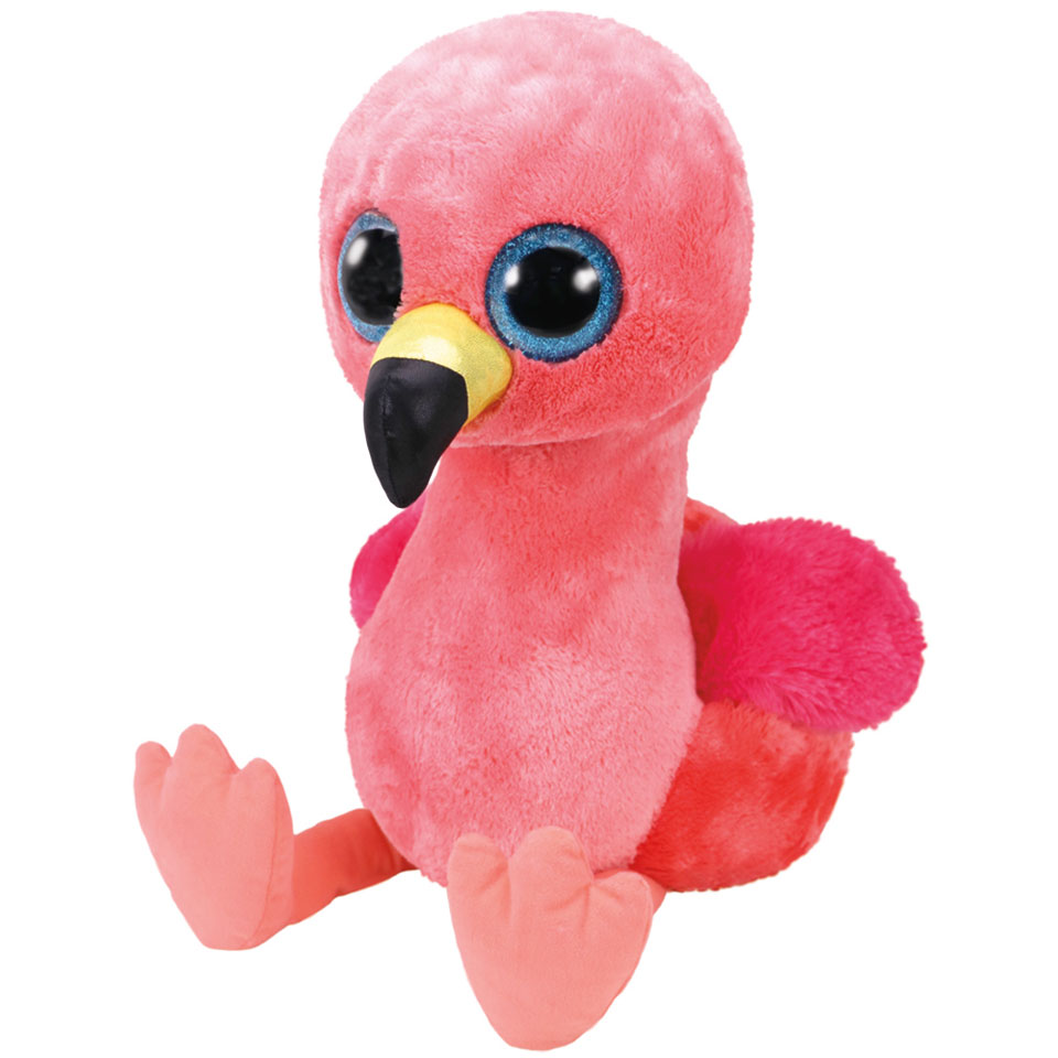 Ty Beanie Boo XL knuffel flamingo Gilda - 42 cm