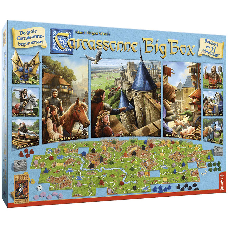 Carcassonne Big Box 3 bordspel